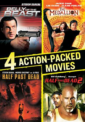 4 ACTION PACKED MOVIES COLLECTION BY SEAGAL,STEVEN (DVD)